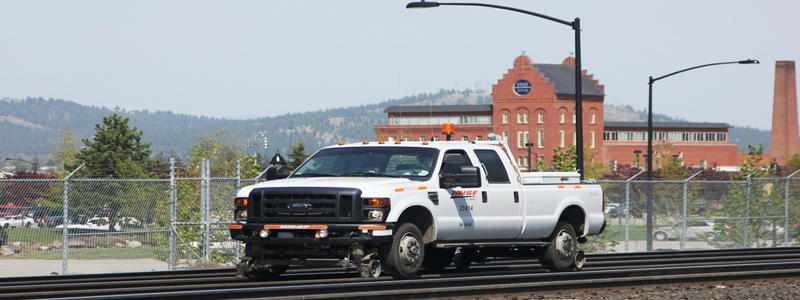 Railway Maintenance Of Way Hy-Rail Ford Super Duty